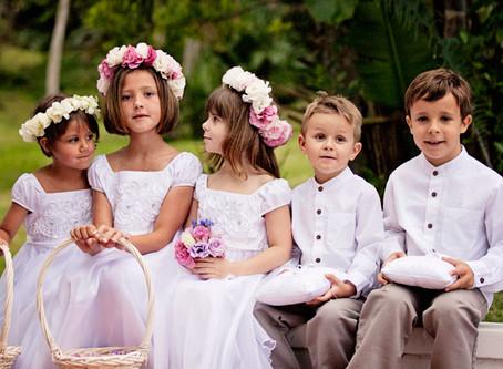Enfants d'honneur : comment les habiller ?