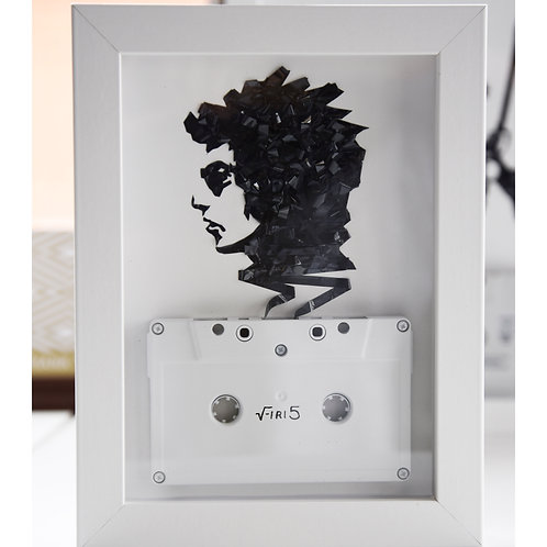 Mini Bob Dylan - 5 by 7 inches