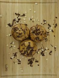 Oatmeal Peanut Banana Muffins