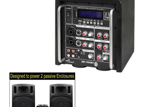 QB-1000BT Bar Cube Power Amplifier