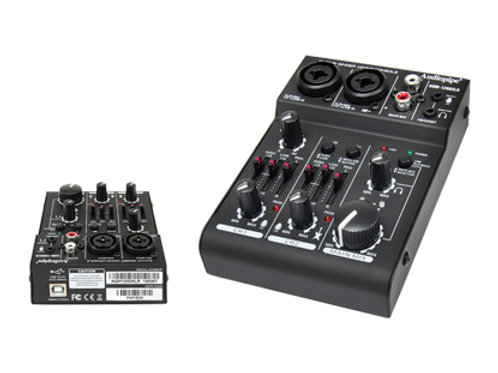 AQM-1200XLR 2 Channel Guitar - Singer - Mixing Console