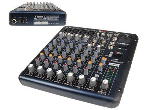 AQP-8100DU 8 Channel Mixing Console