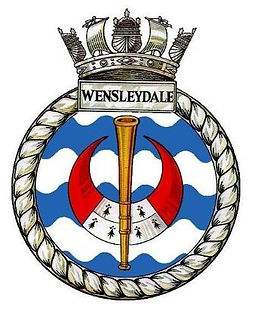 HMS Wensleydale Hunt Class Destroyer