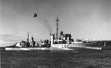 HMS Wensleydale Hunt Class Destroyer