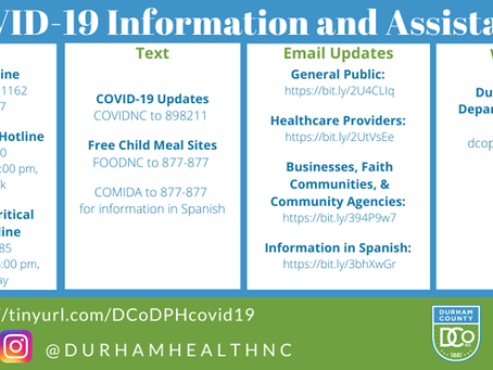 COVID-19 Information & Assistance