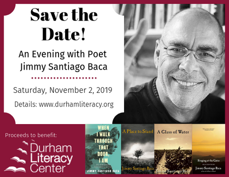 Save the Date: Fall Author Event November 2, 2019