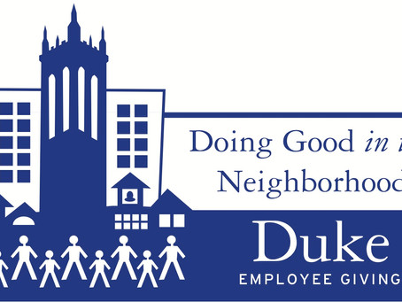 Duke Employee Giving funds awarded to a new DLC initiative!