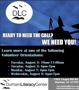 Volunteer orientation dates now available!
