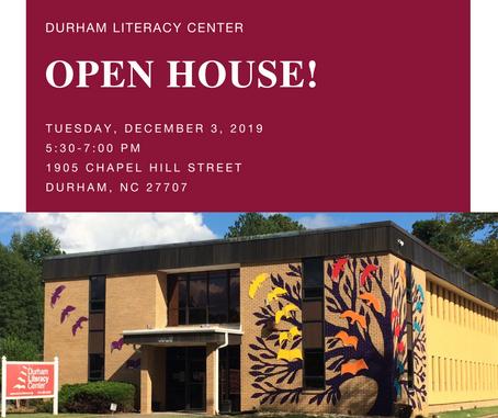 Open House December 3rd