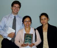 Lal wins student leadership award