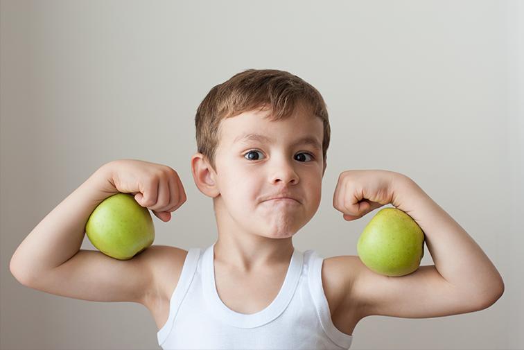 niños saludables