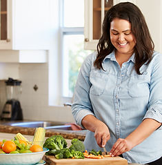 nutrición para personas con sobrepeso y o