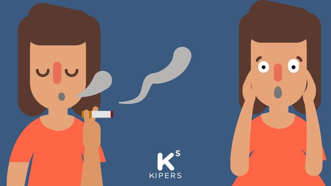 Deja de fumar sin subir de peso
