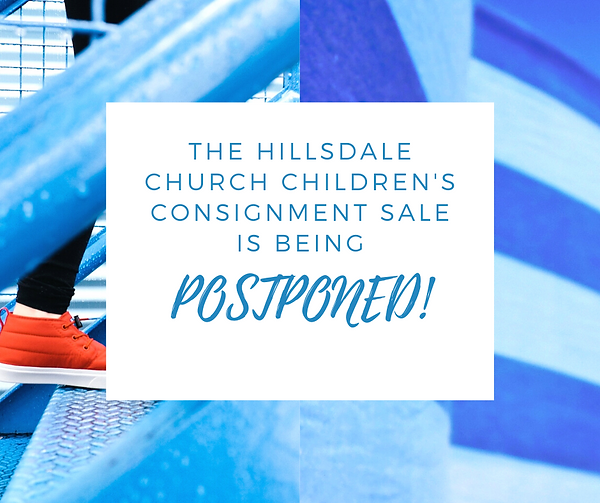 The Hillsdale Church Children's Consignm