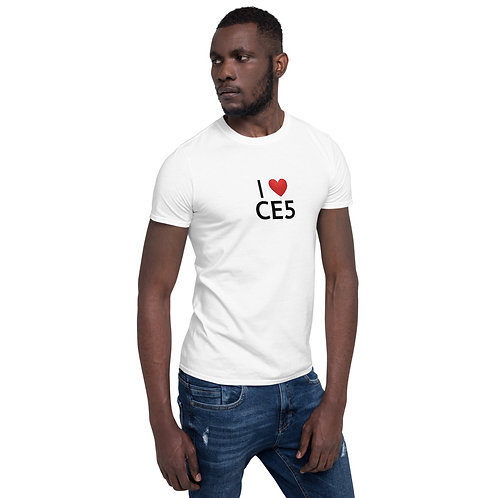 Short-Sleeve Unisex T-Shirt, White or Grey