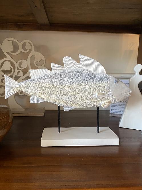 Bubbles Fish Statue