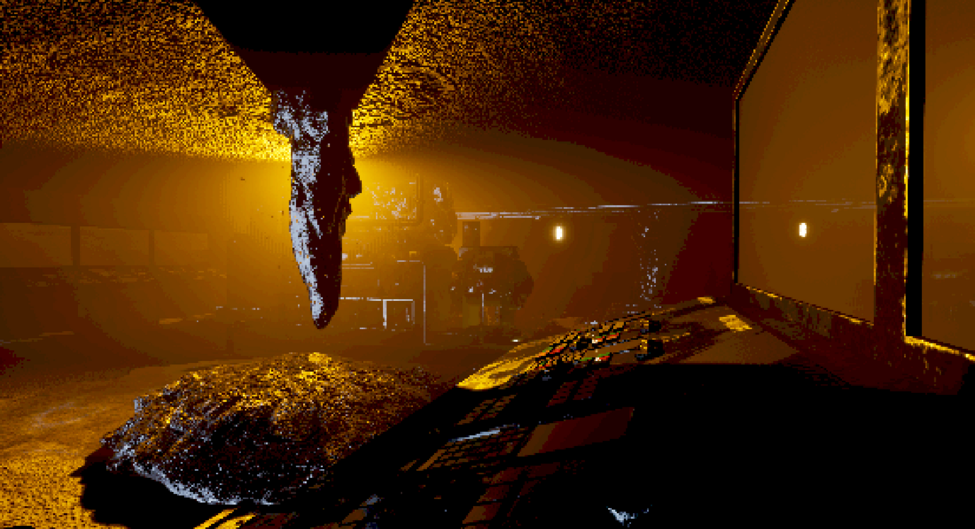 In-game Screenshot Radioactive Hazard