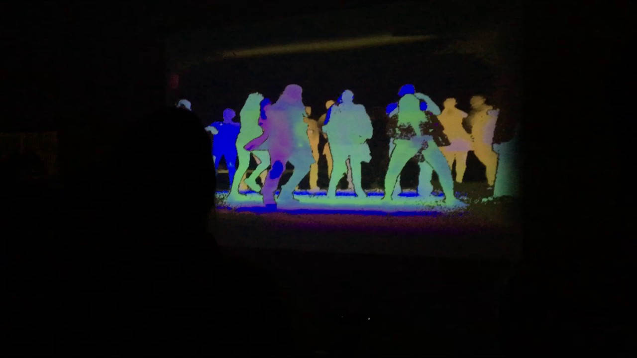 Depth Vision Dance Party
