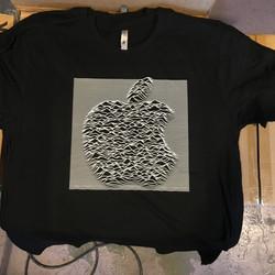 Apple Joy Displacement T-shirt