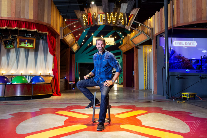 Two Bit Circus CEO Brent Bushnell.