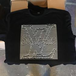 Supreme LV Joy Displacement T-shirt