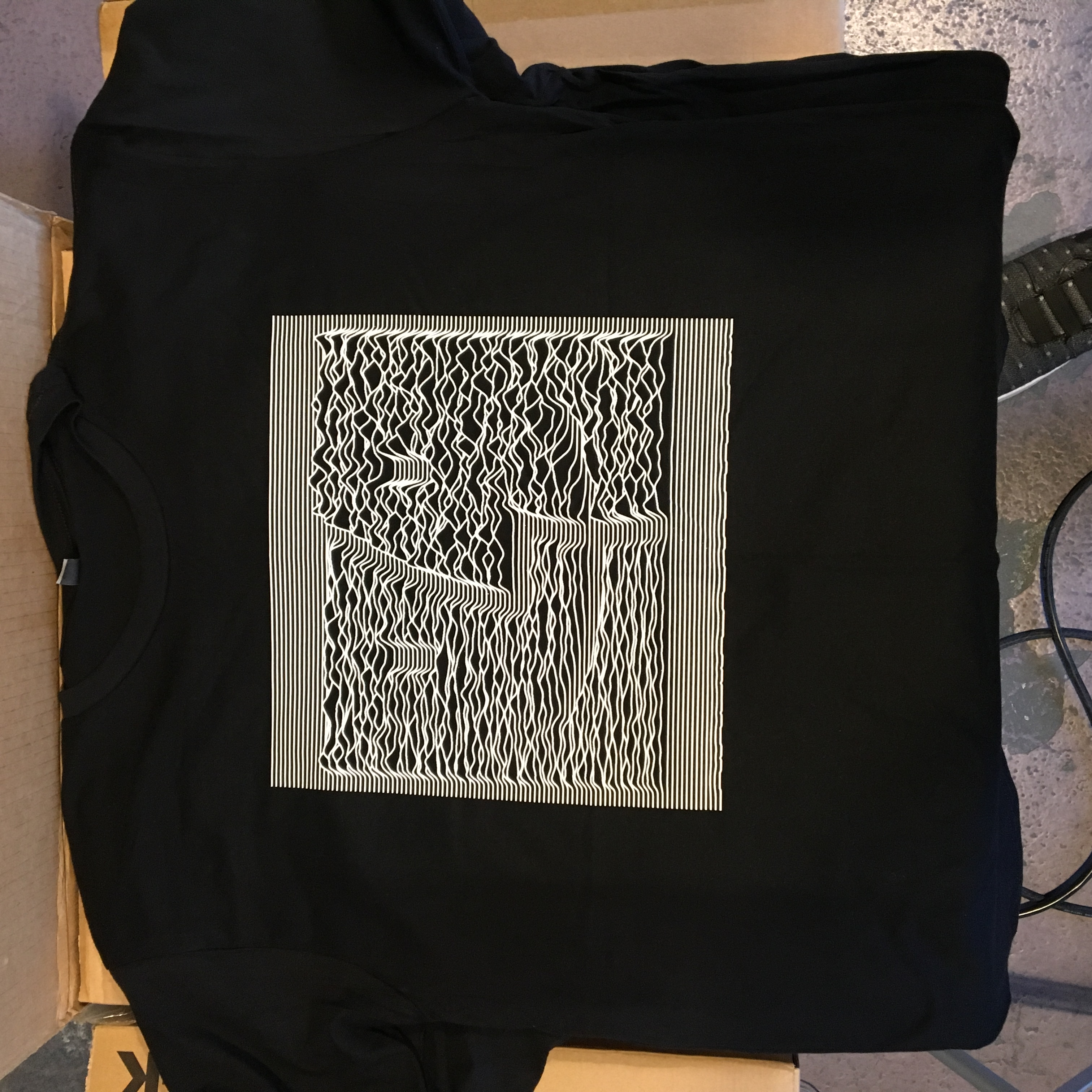 MacOS Joy Displacement T-shirt