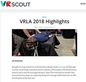 click here to read VR Scout's VRLA 2018 highlights