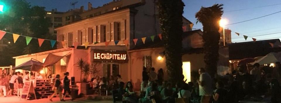 Le Chapiteau - La Belle de Mai - Marseille la nuit lieu de vie
