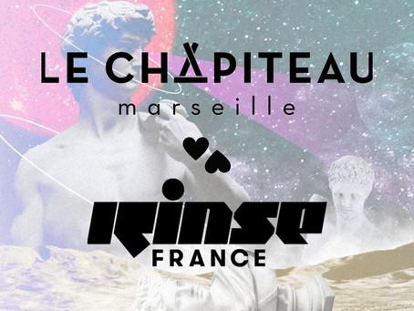 Le Chapiteau s'associe à RINSE France !