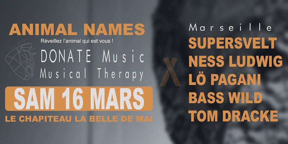 Animal Names | Le Chapiteau la Belle de Mai | Marseille