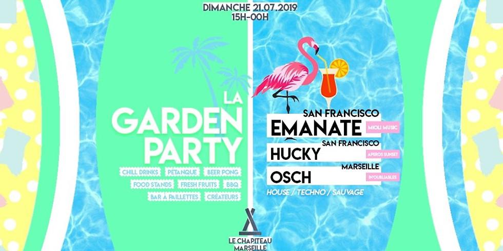 La Garden Party : Emanate (San Francisco), Hucky, OSCH