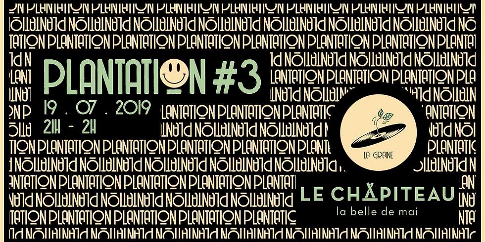 Plantation #3 - La Graine X Le Chapiteau