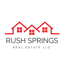 Rush Spring Real Estate Logo - Black Tex