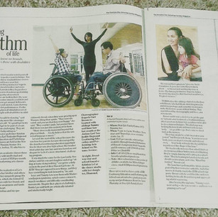 Honolulu Broadway Babies and J.E.T.H School were featured in a full page interview with the Honolulu Advertiser, 2017.