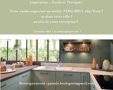 Atelier -  Workshop  - FENG SHUI