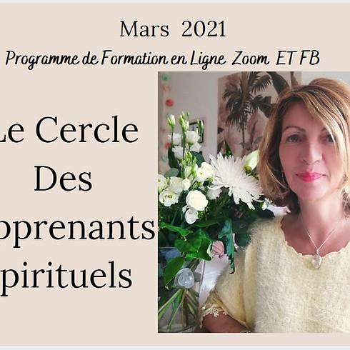LE CERCLE DES APPRENANTS SPIRITUELS - MARS / SEPTEMBRE 2021