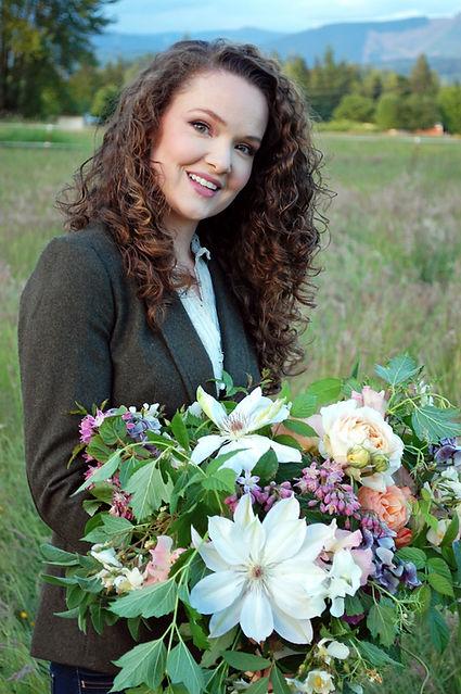 Molly Jackson, Owner, Floral Designer, Lead Florist   En Fleur Floral Design