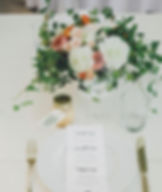 En Fleur Florist, Seattle, WA | Wedding centerpiece flowers. Dahlias and garden roses