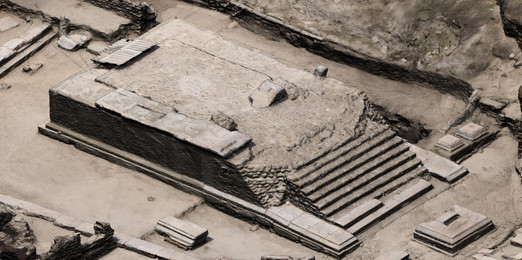 Close-range photogrammetry, Temple of Isis