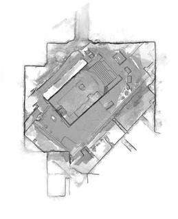 Close-range photogrammetry, Temple of Isis, Groundplan