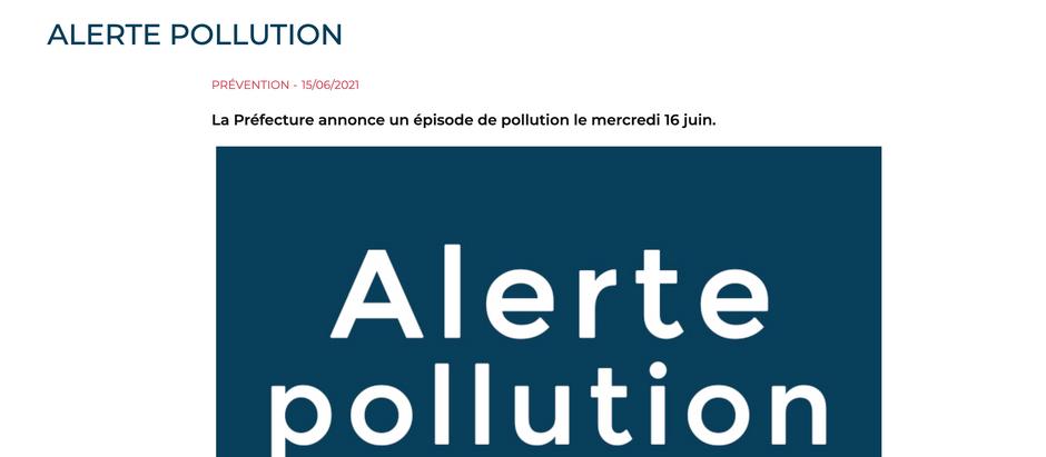 ALERTE POLLUTION!!