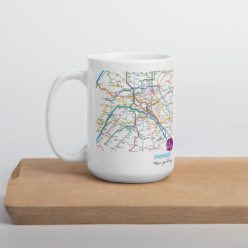 metro message mug 15oz