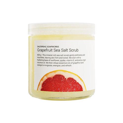 Grapefruit Sea Salt Scrub