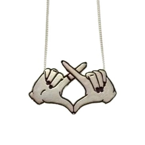 """""""XO"""" Necklace"""