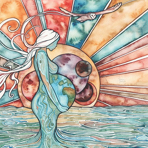 Watercolour Print - Rebirth