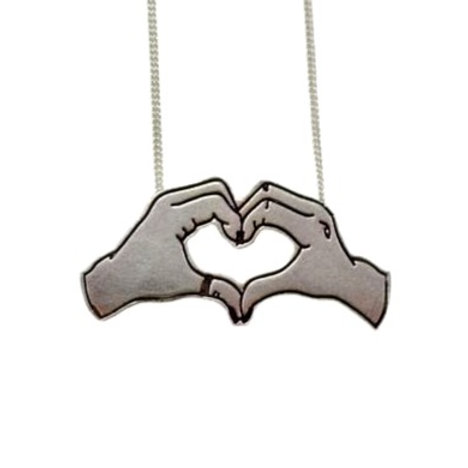 """Pretty Lil Heart"" Necklace"