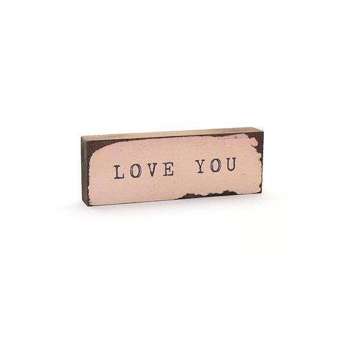 """""""Love You"""" Timber Bit"""