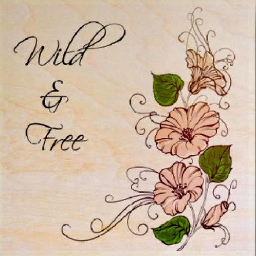 """""""Wild & Free"""" Coaster"""