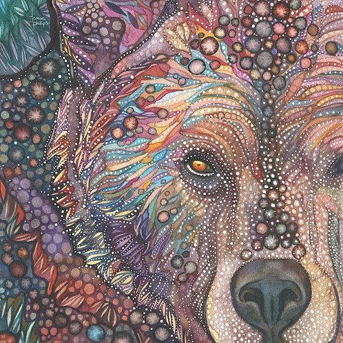 Watercolour Print - Bear Medicine