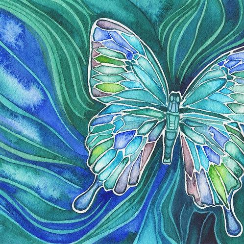 Watercolour Print - Butterfly
